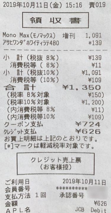 消費税増税!キャッシュレス還元②  〜一部商品券は差額もキャッシュレス対象外〜